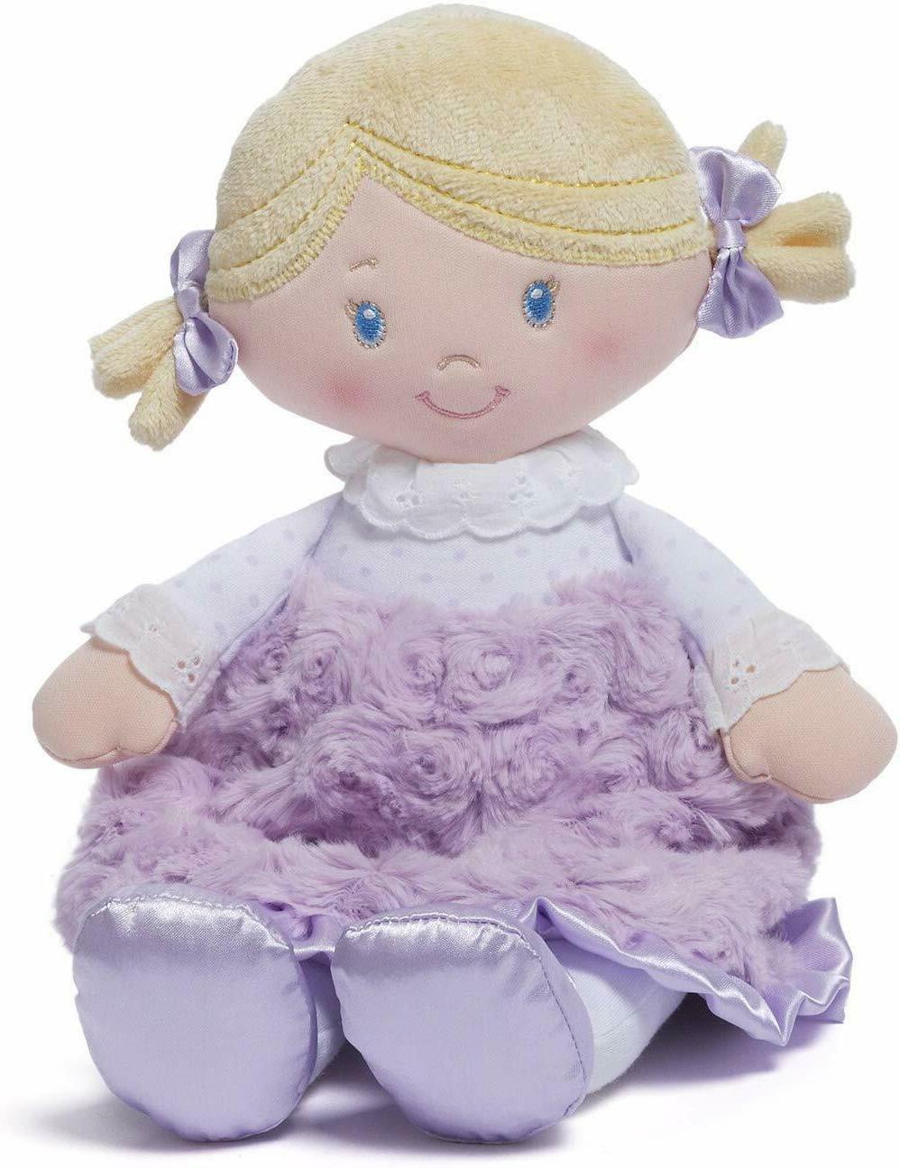 "Baby Gund blonde doll 'Cece'  11"" NWT Super soft for babies"