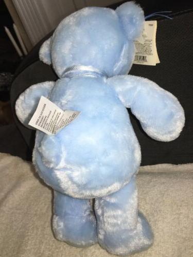 Gund Baby Blue My First Stuffed Feet