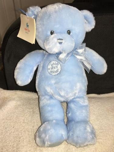 """First Plush Bear 10"""" Feet NWT"""