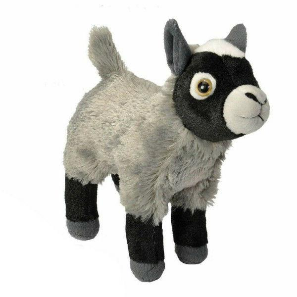 Baby Goat Toy Kids Plush Girl Cuddlekins Animals Gift