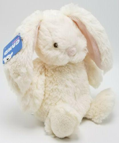 "Baby Stuffed Animal Soft Cream, 8"" Long Rabbit"