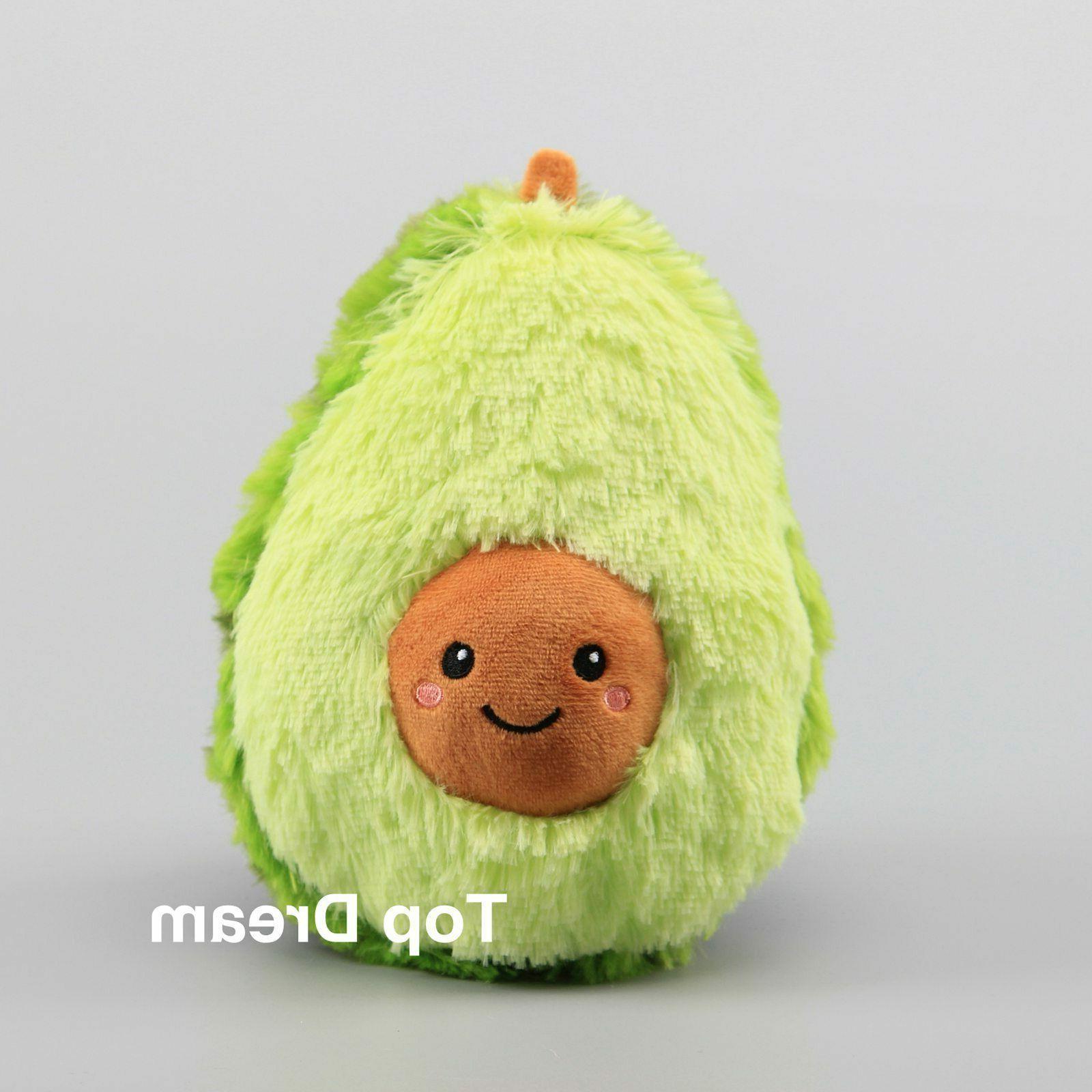 baby toy avocado fruit plush toy soft
