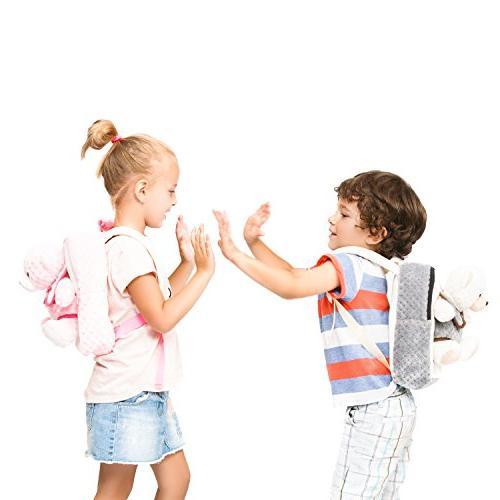 – Kids Animal Toy Backpack Girls
