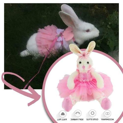 WEWILL Ballerina Bunny Stuffed Animal Adorable Soft Toys Rabbit