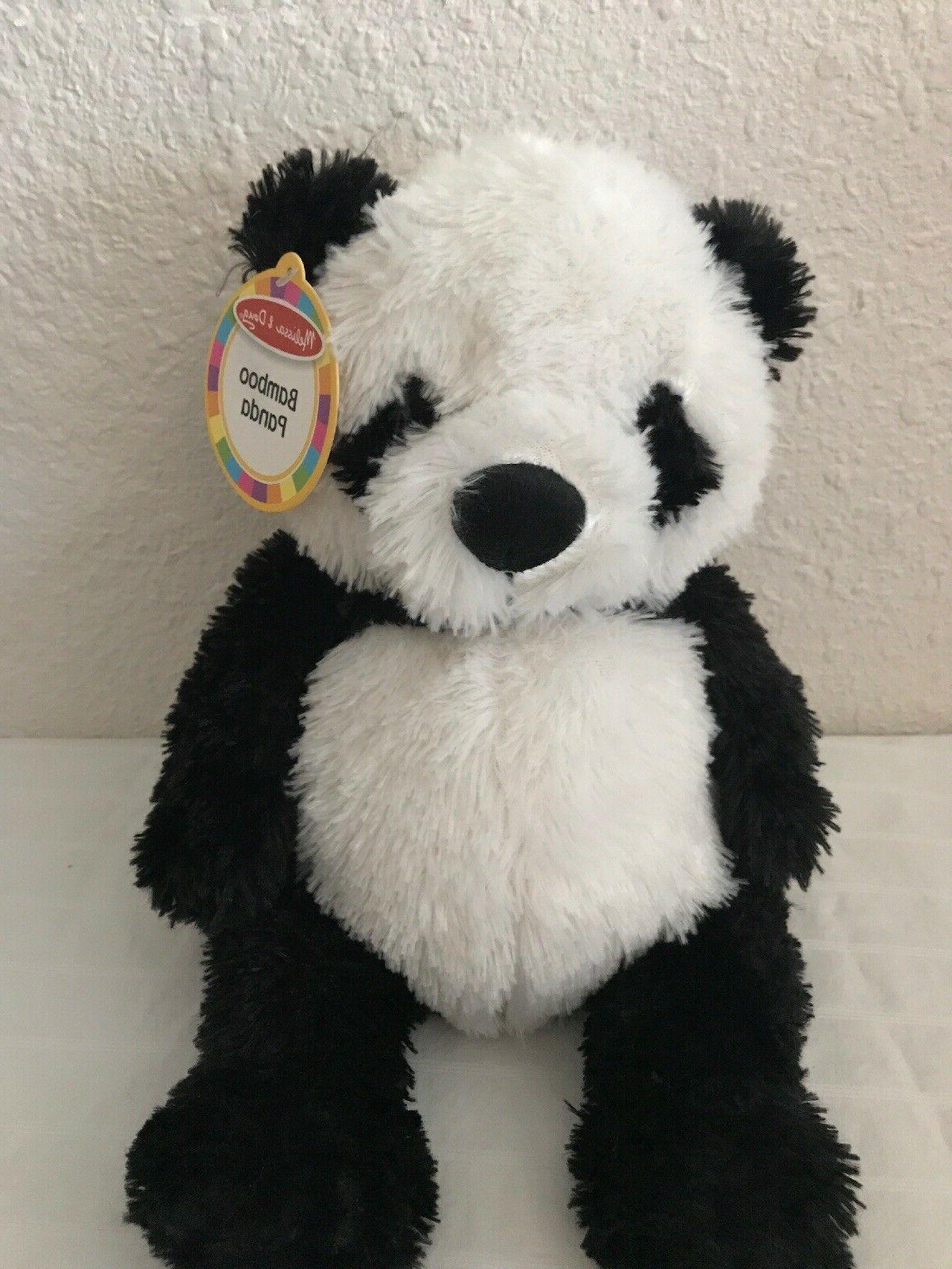 Melissa & Doug Bamboo Panda Plush Animal