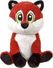 bandit sitting fox plush stuffed
