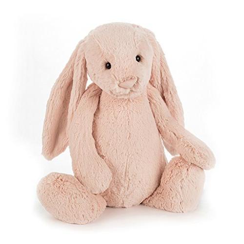 bashful blush bunny stuffed animal