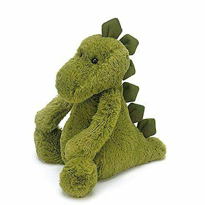 Jellycat Bashful Dinosaur, Medium, 12 inches