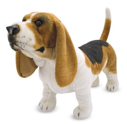 basset hound plush stuffed animal