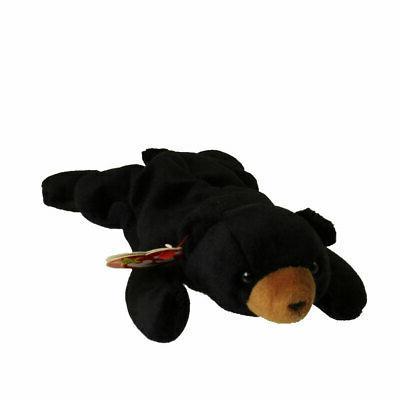 beanie babies black bear blackie