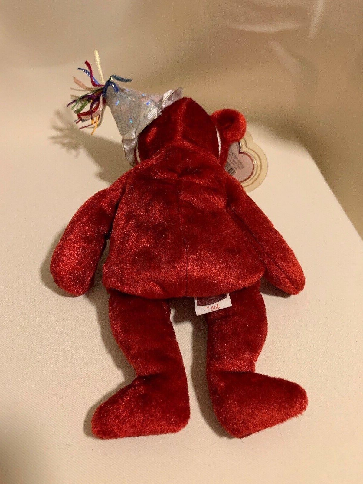 Ty Beanie the Bear Animal Teddy Pristine!