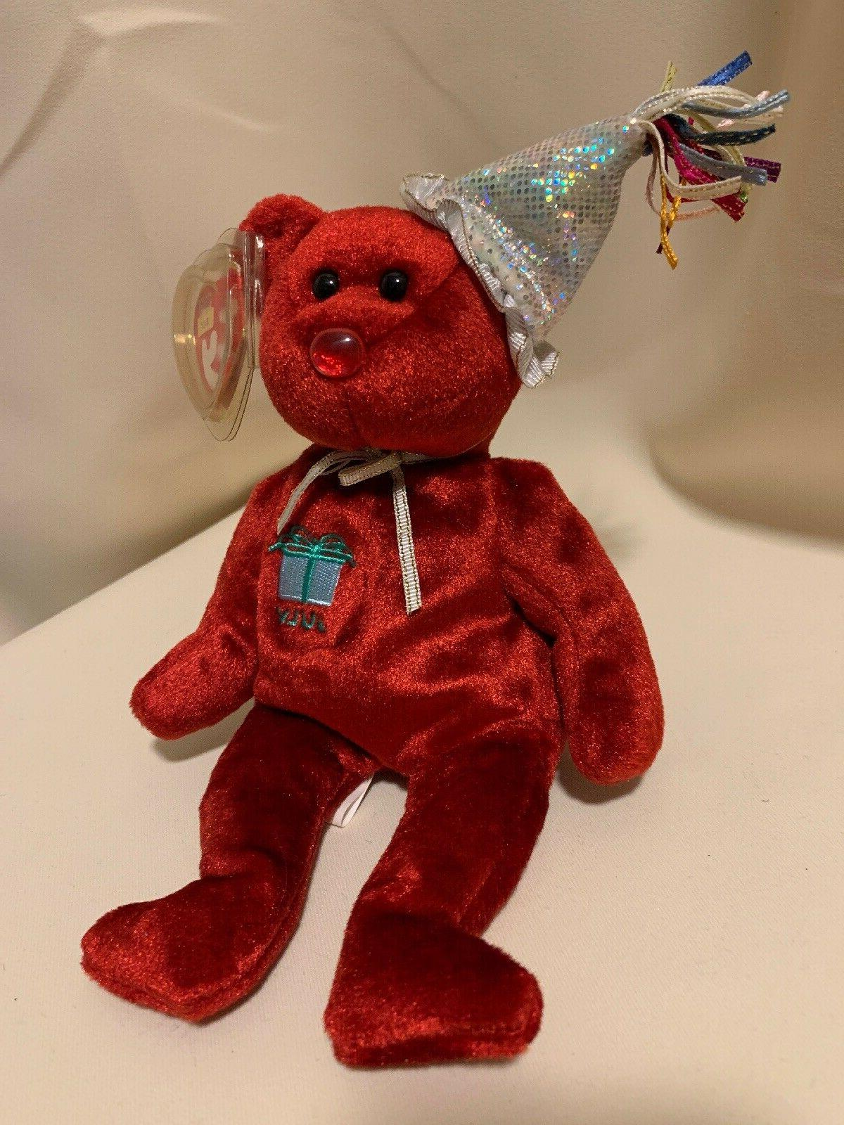 beanie babies july the red happy birthday