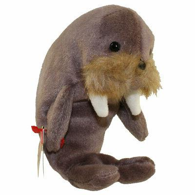 TY Beanie Babies Walrus ** JOLLY ** 4th Generation New w/ Ta