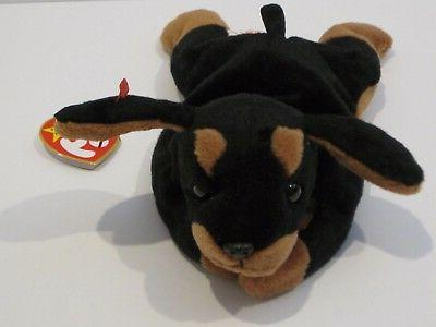 Ty Beanie Baby Doby Dog Canine Plush Stuffed Animal Retired