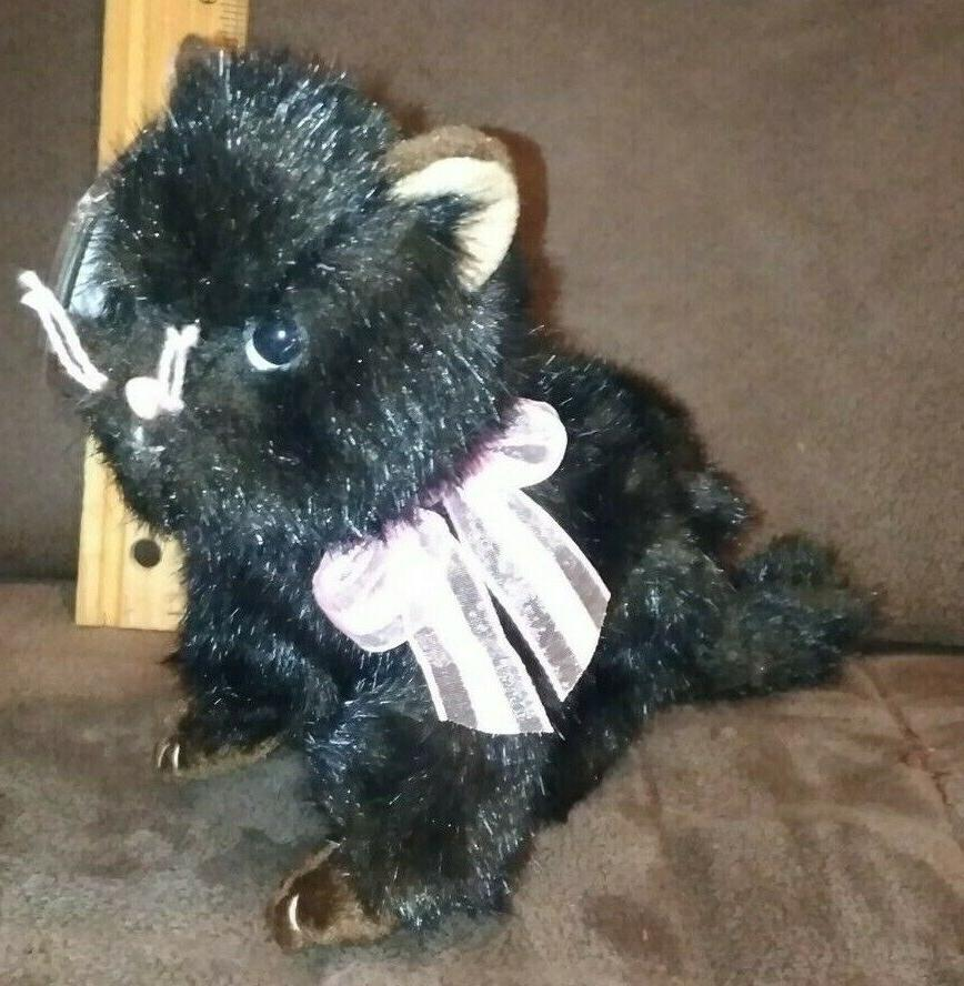 TY Beanie Baby - HEIRESS the Cat  - MWMTs Stuffed Animal Toy