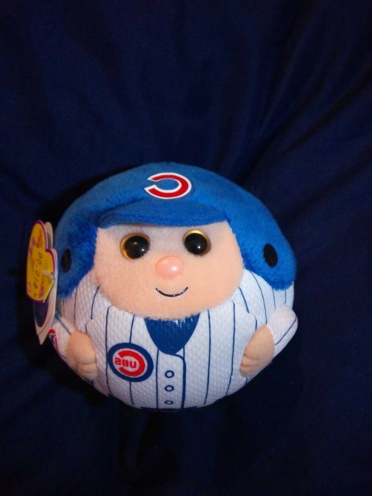 TY Beanie Ballz Cubs Plush MLB uniform