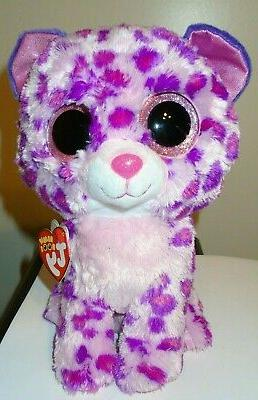 """Ty Inc. Beanie Boo - Glamour the Pink Leopard - 9"""""""