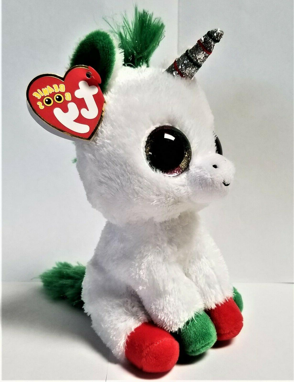 Ty Beanie Boo's - 6'' Candy The Unicorn