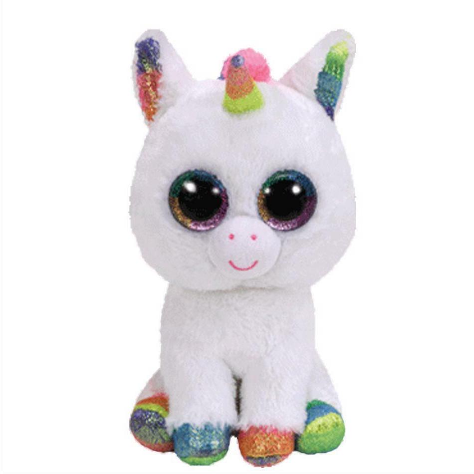 Beanie Boos Stuffed & Plush Animals Colorful White Unicorn T