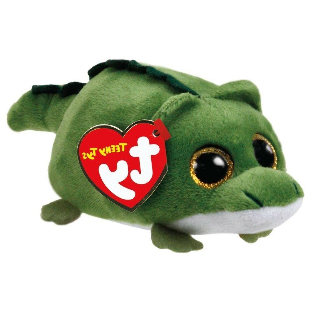 "TY Beanie Boos Teeny Tys 4"" WALLIE Alligator Stackable Plush"