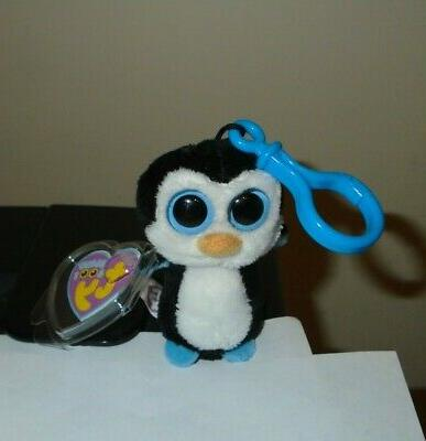 Ty Beanie Boos Waddles - Penguin Clip