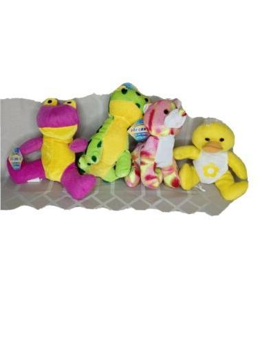beanpals plush stuffed animals frog chicken bear