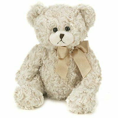 bearington baby huggles creamy white plush stuffed