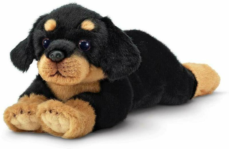 Bearington Gunner Rottweiler Plush Stuffed Animal Puppy Dog,