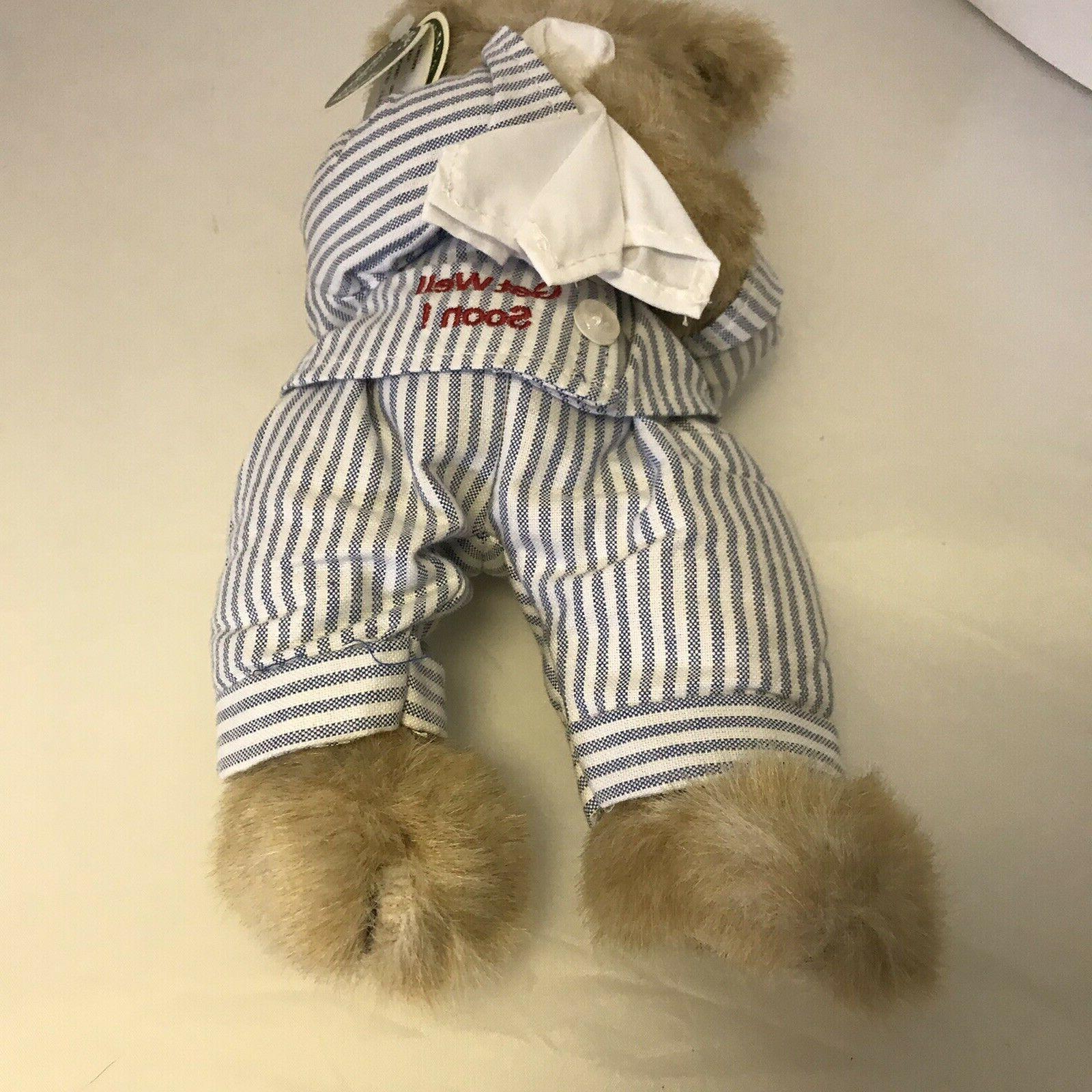 Bearington Willie Teddy Bear Get Plush Animal tags