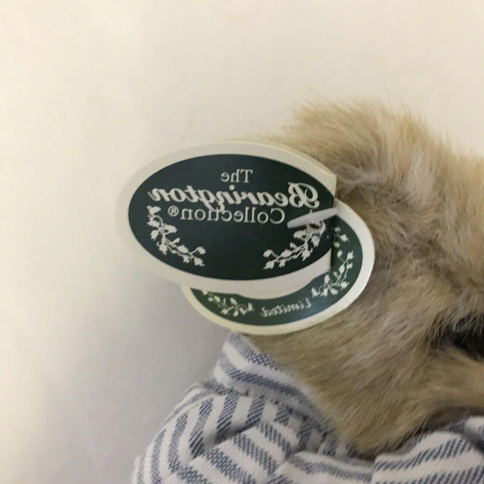Bearington Illie Willie Teddy Bear Soon Plush Animal with tags