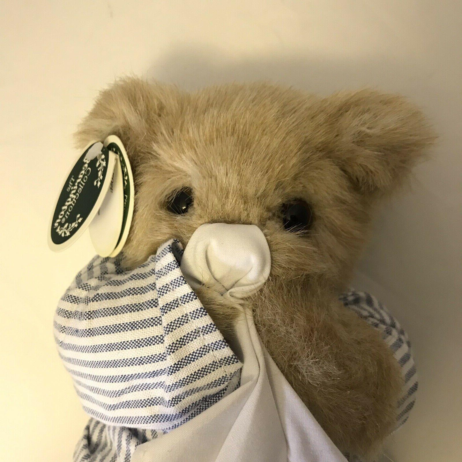 Bearington Illie Bear Well Plush Animal tags