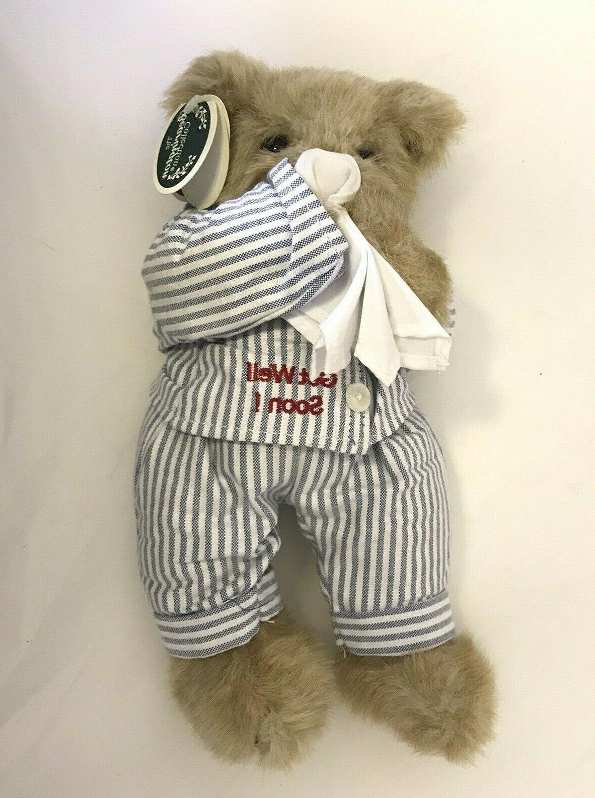 Bearington Bear Get Plush Stuffed tags