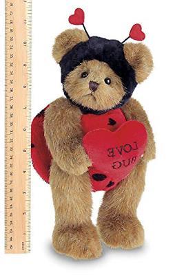 Bearington Bug Stuffed Animal Teddy Bear Heart, 10