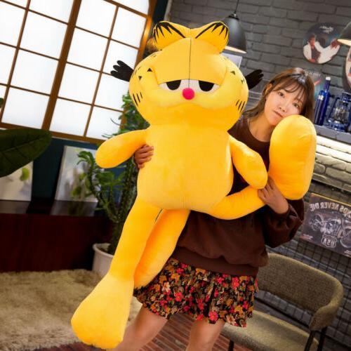 Big Garfield Plush Soft Giant Stuffed Animals Doll Xmas