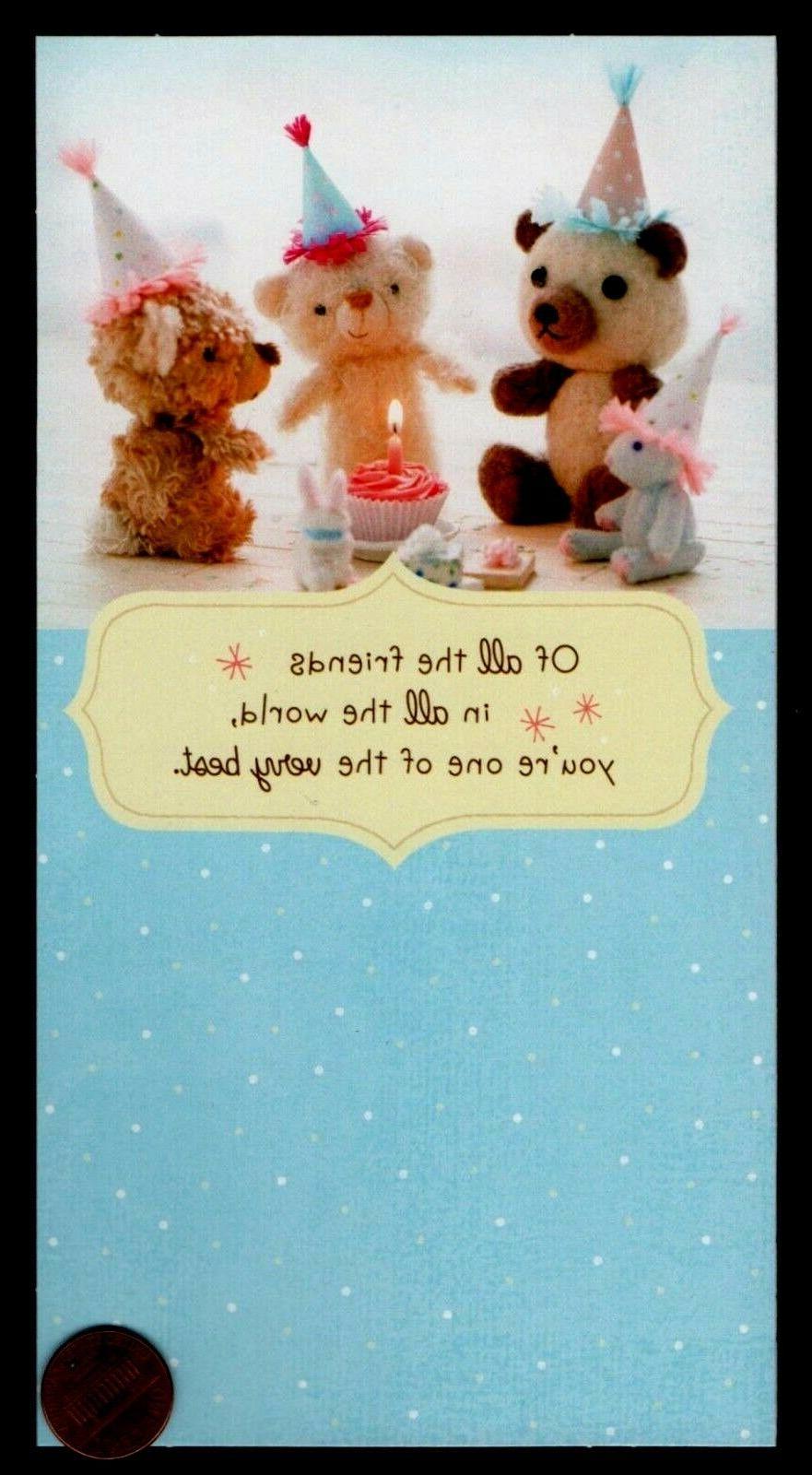 birthday stuffed animals teddy bears rabbit cupcake