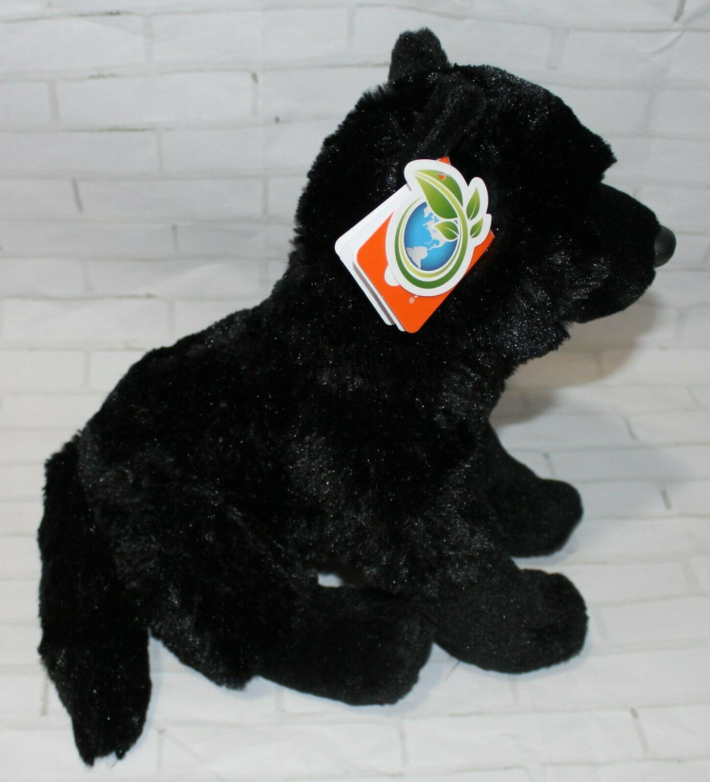 "Wild Republic BLACK 12"" Plush"