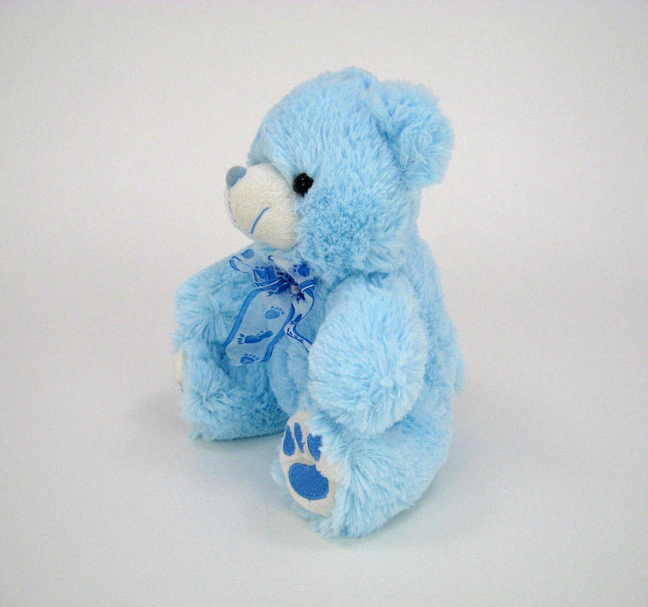 """Blue Stuffed It's Baby Shower 8"""""""