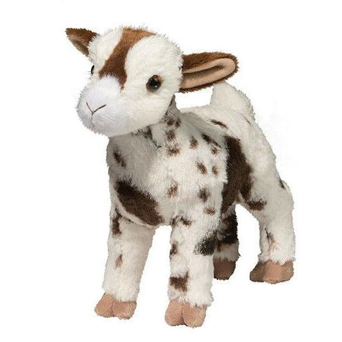 bodhi 8 stuffed animal goat white brown