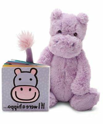 book stuffed animal gift set