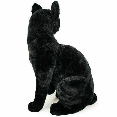 Boone Black Cat   Inch Stuffed Animal Plush