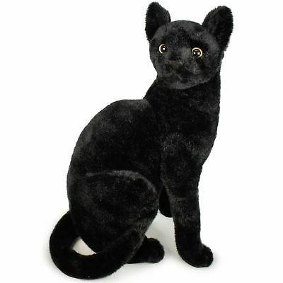 boone the black cat 14 inch stuffed