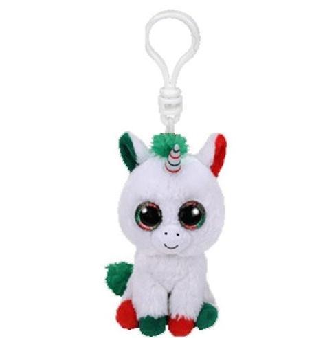 "Ty Plush <font><b>Keychain</b></font> Doll Fox Owl Dog Penguin Giraffe Dragon 4"""