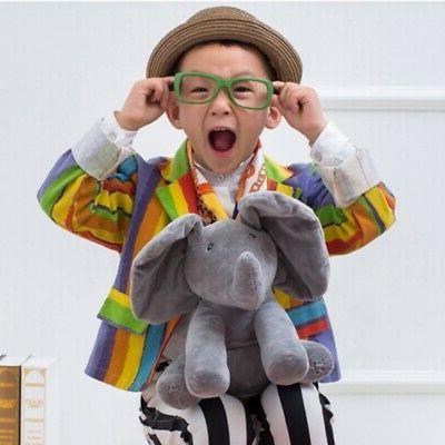 Peek-a-Boo Singing Elephant Doll