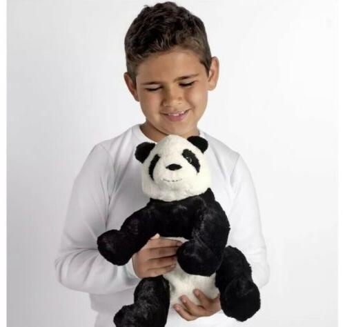 "Brand Bear 12"" Animal Plush Kid Black"