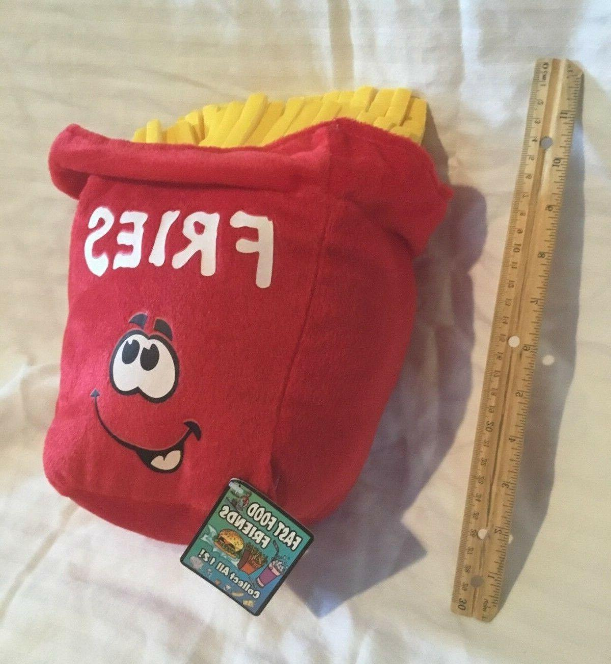 "Brand Games French Fries Stuffed 10"" 1/12"