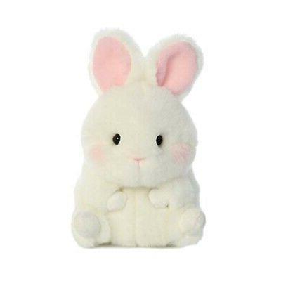 bunbun white bunny rolly pet