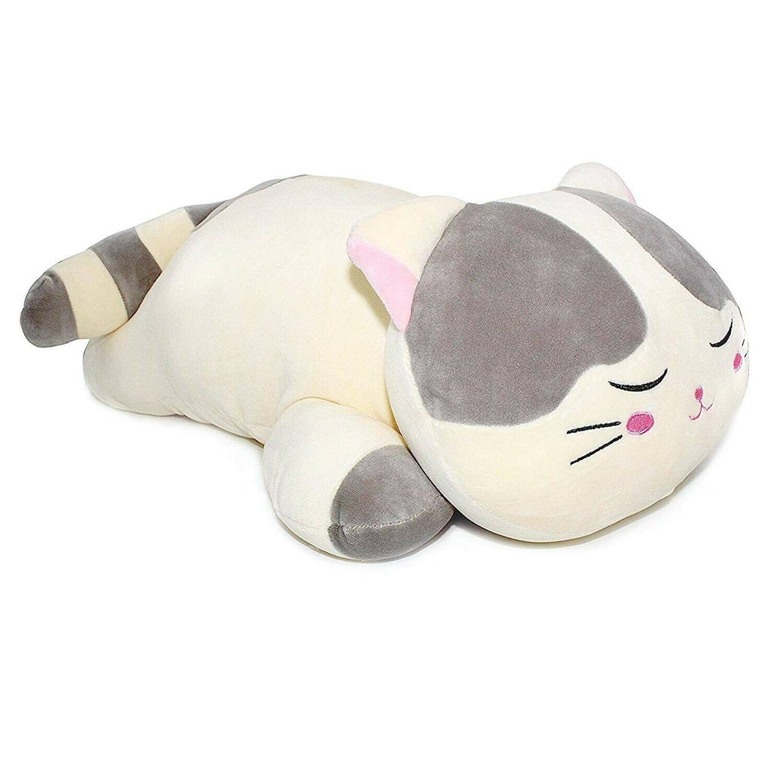cat plush animal pillow kitten kitty giant