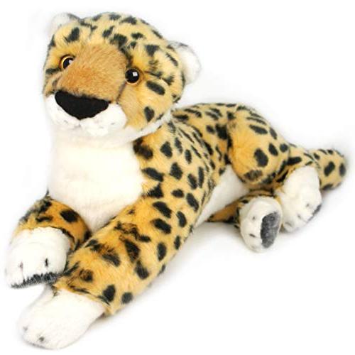 chuck cheetah stuffed animal plush