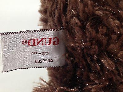 Gund CODY Teddy Plush Brown Red Bow TAG