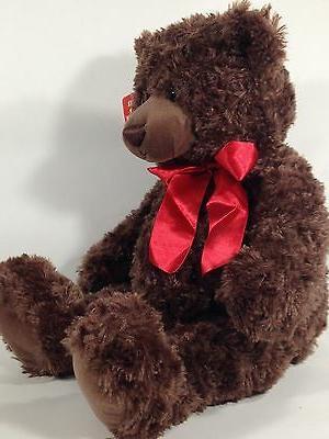Gund Teddy Red Bow TAG